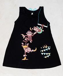 Plan B Go Bananas Girls Dress - Black