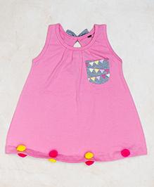Plan B Plain Jane Dress - Pink