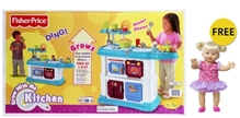 Fisher Price - Grow With Me Kitchen with Free Gift