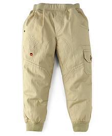 Jash Kids Full Length Jogger Pants - Fawn