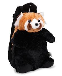 Wild Republic Red Panda Backpack Brown & Black - 30 cm