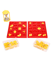 Virgo Toys Match It Shape Puzzle - Red And Yellow