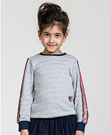 My Lil'Berry Disco Sleeved Sweatshirt - Grey