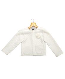 Marshmallow Kids Couture Elegant Jacket - Off White