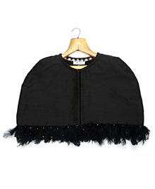 Marshmallow Kids Couture Elegant Jacket - Black
