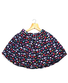 Marshmallow Kids Couture Elegant Skirt - Blue