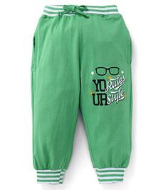 Fido Full Length Leggings - Green