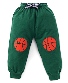 Fido Track Pant Ball Print - Green