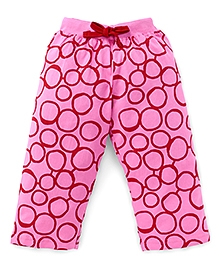 Fido Full Length Printed Leggings - Pink