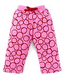 Fido Full Length Printed Leggings - Pink