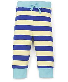Pinehill Stripes Full Length Track Pant - Blue Yellow