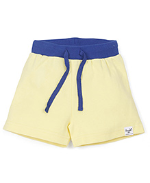 Pinehill Shorts With Drawstring - Yellow