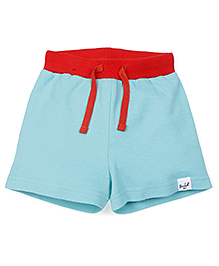 Pinehill Shorts With Drawstring - Aqua Blue