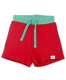 Pinehill Shorts With Drawstring - Red