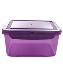 Wonderchef Poplock Neon 2L Lunch Box- Purple