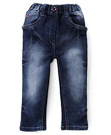 Olio Kids Full Length Jeans - Dark Blue
