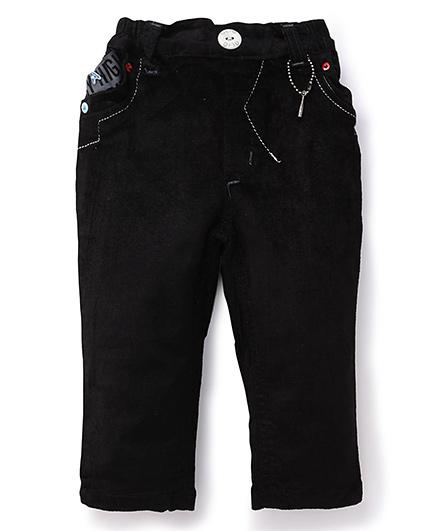 Olio Kids Corduroy Pant - Black