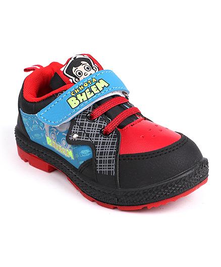 Chhota Bheem Casual Shoes - Black & Red