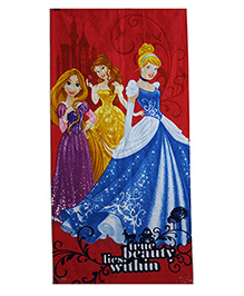 Sassoon Disney Princess Towel - Red