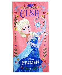 Sassoon Disney Frozen Towel - Pink