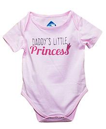 Blue Bus Store Daddy's Little Princess Print Onesie - Pink