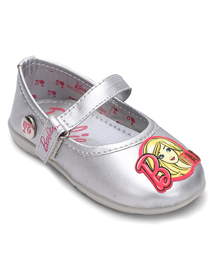 Barbie Bellies With Velcro Closure - Silver