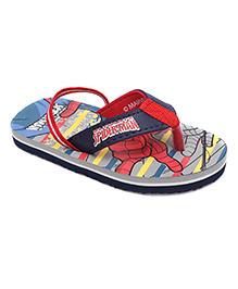 Spider Man Flip Flops  - Red And Blue