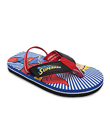 Spider Man Flip Flops  - Blue And Red