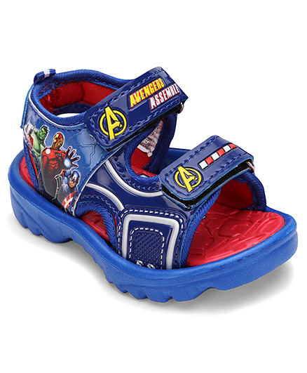 Avengers Floater Sandals - Blue And Red