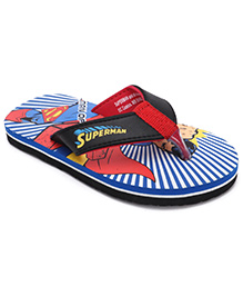 Spider Man Flip Flops - Blue Red
