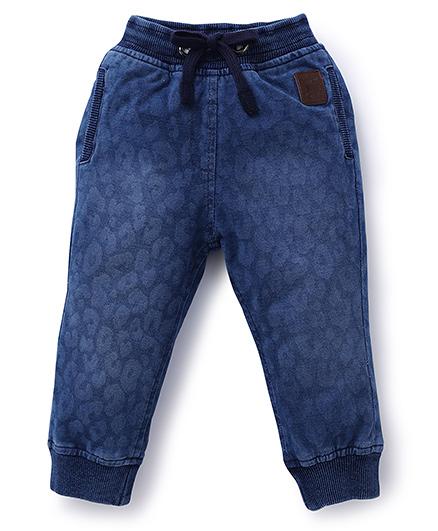 Little Kangaroos Jeans Printed - Light Blue