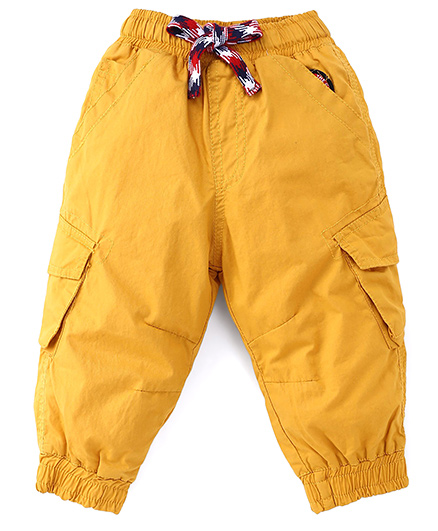 Little Kangaroos Solid Color Pant - Yellow