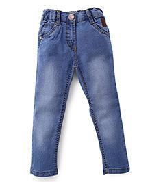 Little Kangaroos Full Length Denim Jeans - Light Blue