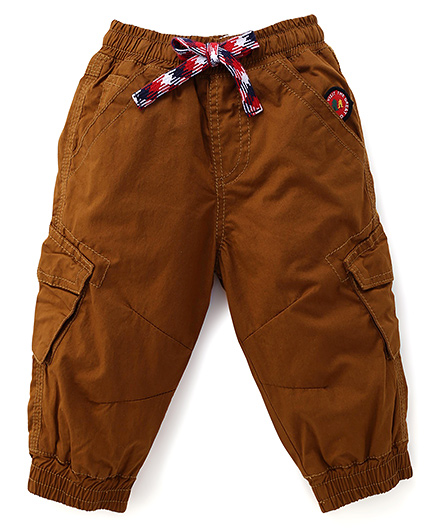 Little Kangaroos Solid Color Pant - Beige