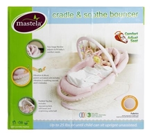 Mastela - Mastela Cradle and Soothe Bouncer Pink