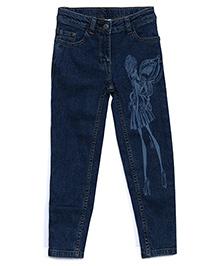 FS Mini Klub Denim Jeans Fairy Print - Blue