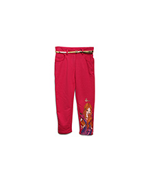 FS Mini Klub Trouser With Belt Fairy Print - Pink