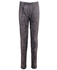 Cutecumber Partywear Leggings - Grey