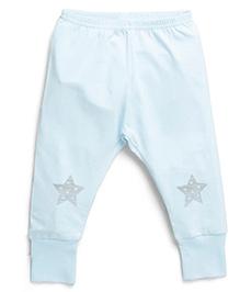 Coccoli Star Print Leggings - Blue