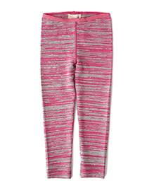 Weedots Full Length Leggings - Pink