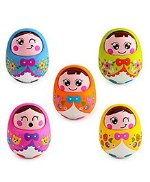 Smartcraft Tumbler Roly Poly Doll - Multi Color