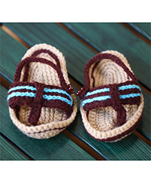 Nappy Monster Slippers - Brown