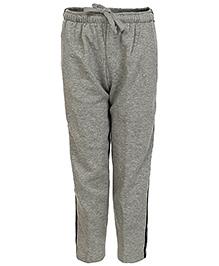 Haig-Dot Open Bottom Track Pant - Grey