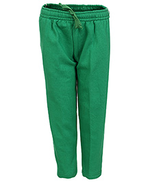 Haig-Dot Open Bottom Full Length Track Pant - Green