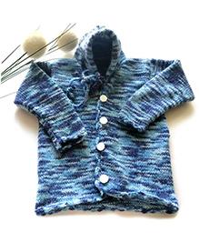 The Original Knit Cozy Hoodie - Multicoloured