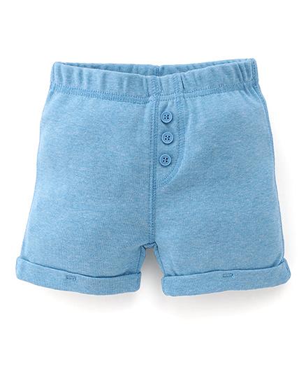 Fox Baby Shorts - Blue
