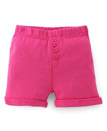 Fox Baby Shorts - Pink