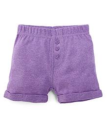 Fox Baby Shorts - Purple