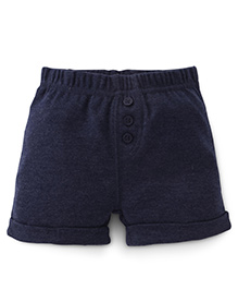 Fox Baby Shorts - Navy Blue