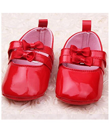 Tickles 4 U Bowknot Antislip Shoes - Red